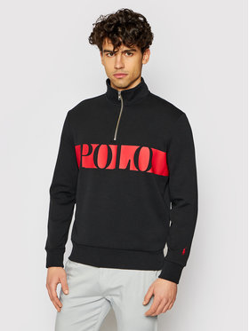 Polo Ralph Lauren Polo Ralph Lauren Суитшърт Lsl 710828115001 Черен Regular Fit
