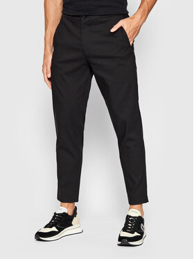Selected Homme Selected Homme Spodnie materiałowe Dann 16079733 Czarny Slim Fit