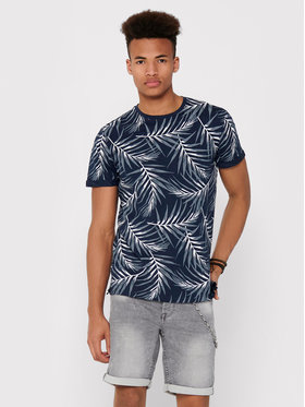 Only & Sons ONLY & SONS T-Shirt Iason 22016762 Dunkelblau Slim Fit