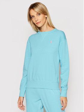 Polo Ralph Lauren Polo Ralph Lauren Bluză Lsl 211780304014 Albastru Regular Fit