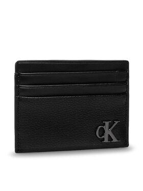 Calvin Klein Jeans Calvin Klein Jeans Etui na karty kredytowe Minimal Monogram Card Case 6cc K60K608401 Czarny
