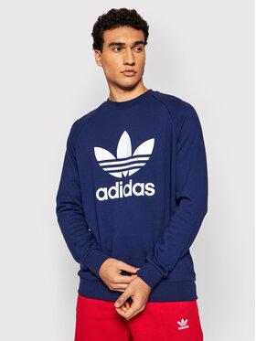 adidas adidas Bluză adicolor Trefoil H06654 Bleumarin Regular Fit