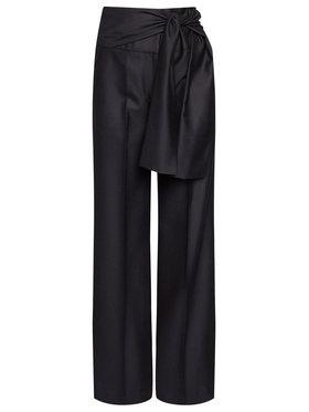 Victoria Victoria Beckham Victoria Victoria Beckham Текстилни панталони Tailoring 2320WTR001398A Тъмносин Oversize