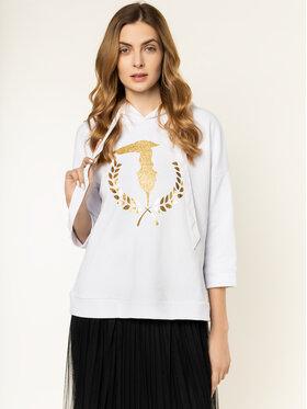 Trussardi Jeans Trussardi Jeans Bluza 56F00085 Biały Regular Fit