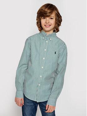 Polo Ralph Lauren Polo Ralph Lauren Koszula Ls Bd 323798998003 Zielony Regular Fit