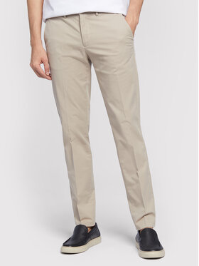Vistula Vistula Pantaloni chino Alain XA1221 Bej Slim Fit