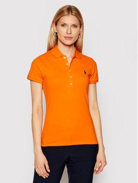 Polo Ralph Lauren Polo Ralph Lauren Polo Ssl 211505654157 Pomarańczowy Slim Fit