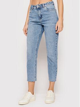 Vero Moda Vero Moda Jeansy Brenda 10247009 Niebieski Straight Fit