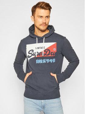 Superdry Superdry Μπλούζα Vl O Primary Hood M2010431A Σκούρο μπλε Regular Fit