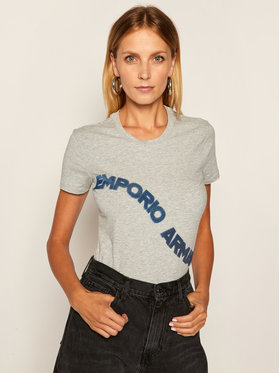 Emporio Armani Emporio Armani T-shirt 3H2T6F 2JQAZ 0616 Grigio Regular Fit
