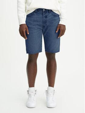 Levi's® Levi's® Jeansshorts 501® Hemmed 36512-0092 Dunkelblau Regular Fit
