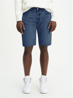 Levi's® Levi's® Szorty jeansowe 501® Hemmed 36512-0092 Granatowy Regular Fit