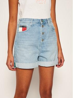 Tommy Jeans Tommy Jeans Džínové šortky Mom DW0DW08649 Modrá Regular Fit