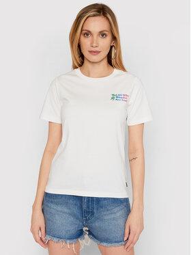 Converse Converse T-Shirt Exploration Team 10022260-A02 Bílá Standard Fit