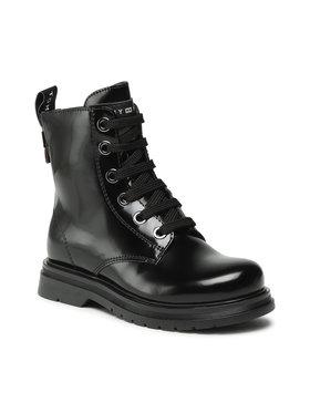 Tommy Hilfiger Tommy Hilfiger Μπότες Lace-Up Bootie T4A5-32009-0776 M Μαύρο
