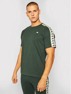 Kappa Kappa T-Shirt Hanno 308011 Grün Regular Fit