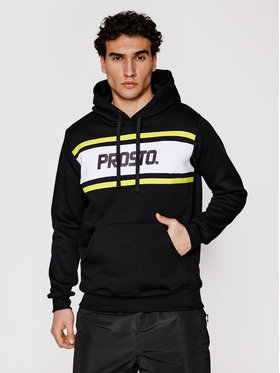 PROSTO. PROSTO. Sweatshirt Tovex 2101 Schwarz Regular Fit
