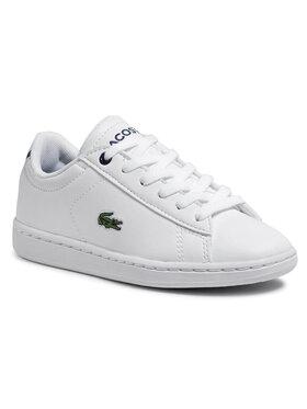 Lacoste Lacoste Sneakersy Carnaby Evo Bl 1 Spc 7-33SPC1003042 Bílá