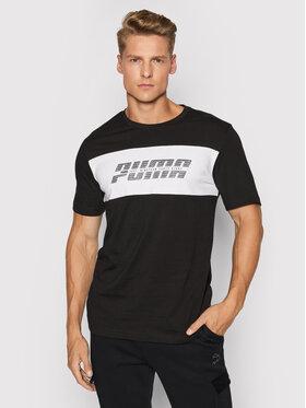 Puma Puma T-Shirt 582484 Czarny Regular Fit