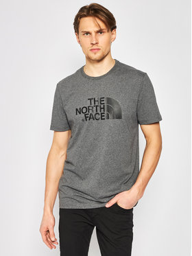 The North Face The North Face Marškinėliai NF0A2TX3JBV1 Pilka Regular Fit