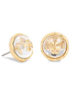 Tory Burch Tory Burch Náušnice Roxanne Circle-Stud Earring 77311 Zlatá