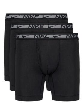 Nike Nike Комплект 3 чифта боксерки Flex Micro 0000KE1028 Черен