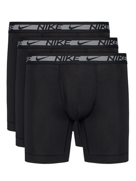 Nike Nike Sada 3 kusů boxerek Flex Micro 0000KE1028 Černá