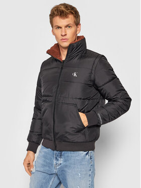 Calvin Klein Jeans Calvin Klein Jeans Kurtka puchowa J30J318411 Czarny Regular Fit