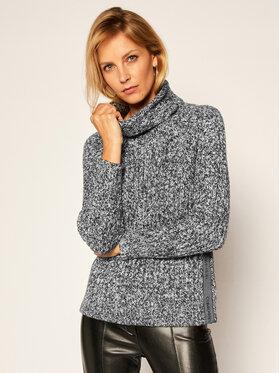 Calvin Klein Calvin Klein Bluză cu gât Ls Logo Cable K20K202263 Colorat Regular Fit