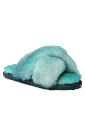 EMU Australia EMU Australia Naminės šlepetės Mayberry Tie Dye Teens T12630 Žalia