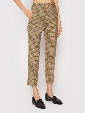 Marella Marella Pantalon en tissu Petalo 31361517 Beige Slim Fit