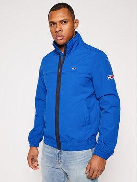 Tommy Jeans Tommy Jeans Átmeneti kabát Essential DM0DM10061 Kék Regular Fit