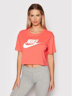 Nike Nike Póló BV6175 Rózsaszín Loose Fit