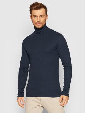Marc O'Polo Marc O'Polo Bluză cu gât M29 2202 52354 Bleumarin Slim Fit