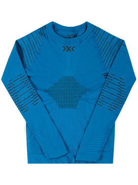 X-Bionic X-Bionic Термооблекло горна част Invent 4.0 INYT06W19J Син Slim Fit
