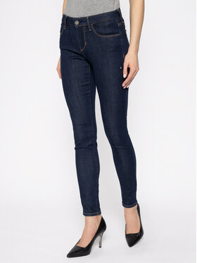 Guess Guess jeansy_skinny_fit Annette W0GA99 D32J5 Tamsiai mėlyna Skinny Fit