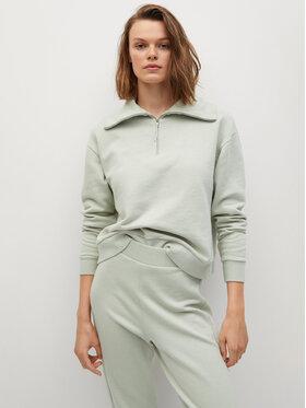 Mango Mango Bluză Cellia 87068639 Verde Regular Fit