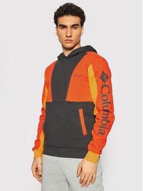 Columbia Columbia Sweatshirt Lodge™ Colorblock 1956663 Orange Regular Fit