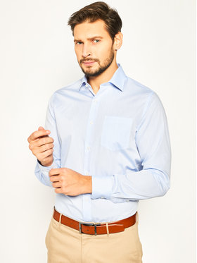 Pierre Cardin Pierre Cardin Marškiniai Hemd Langarm 1309/000/25403 Mėlyna Modern Fit