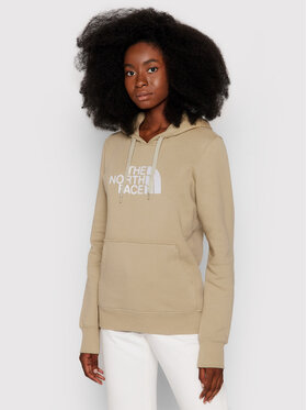 The North Face The North Face Bluza Drew Peak Pull NF0A55ECCEL1 Beżowy Regular Fit