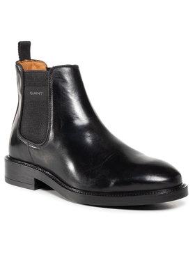 Gant Gant Členková obuv s elastickým prvkom Flairville 21651992 Čierna