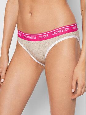 Calvin Klein Underwear Calvin Klein Underwear Класически дамски бикини 000QF5735E Сив