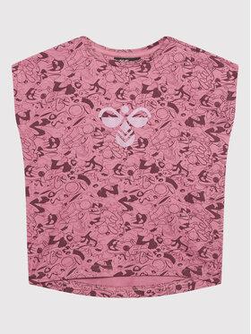 Hummel Hummel T-Shirt SPACE Jam Diez 215877 Rosa Regular Fit
