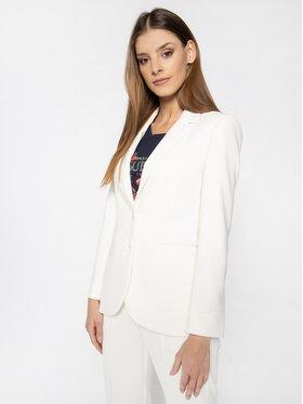 MAX&Co. MAX&Co. Блейзър Casanova 70410620 Бял Slim Fit