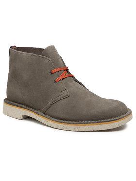 Clarks Clarks Šnurovacia obuv Bushcare 3 261579677 Zelená