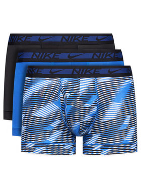 Nike Nike Sada 3 párů boxerek Trunk 3Pk 0000KE1029 Černá