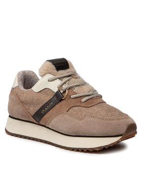 Gant Gant Sneakersy Bevinda 23533095 Hnědá