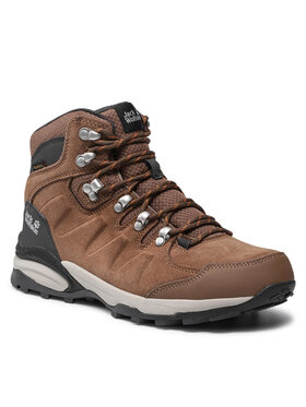 Jack Wolfskin Jack Wolfskin Turistiniai batai Refugio Texapore Mid W 4050871 Ruda