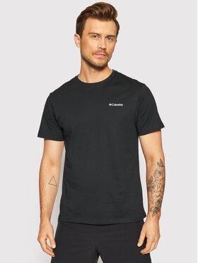Columbia Columbia T-Shirt North Cascades™ 1834041 Czarny Regular Fit