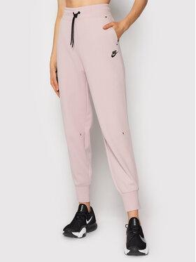 Nike Nike Teplákové nohavice Sportswear Tech Fleece CW4292 Ružová Standard Fit